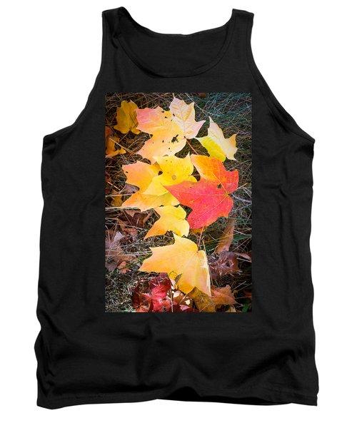 Fallen Leaves Tank Top