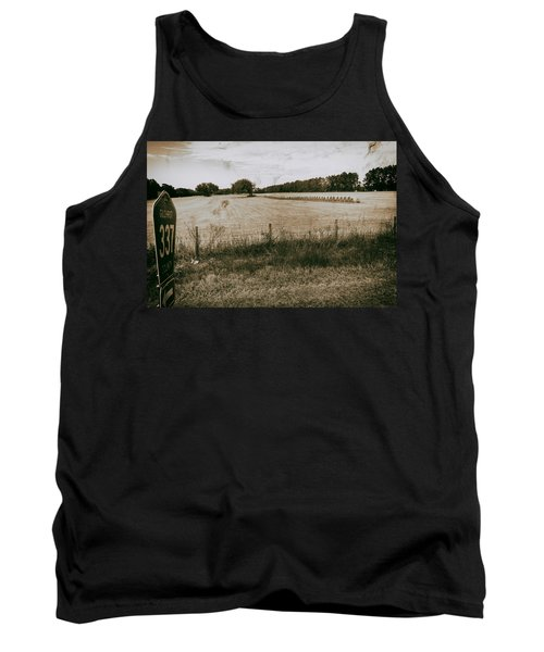 Tank Top featuring the photograph Farming by Howard Salmon