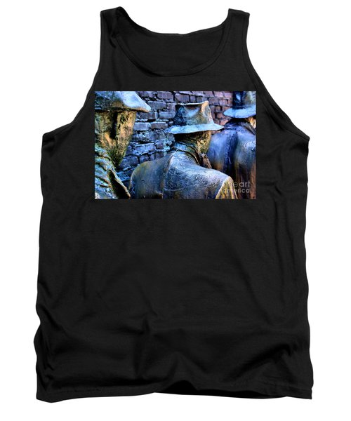 Tank Top featuring the photograph Franklin Roosevelt   Memorial Washington Dc by John S