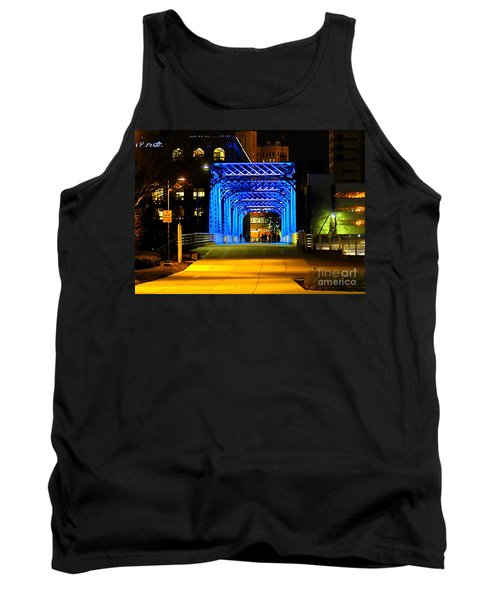 Tank Top featuring the photograph Feeling Blue by Robert Pearson