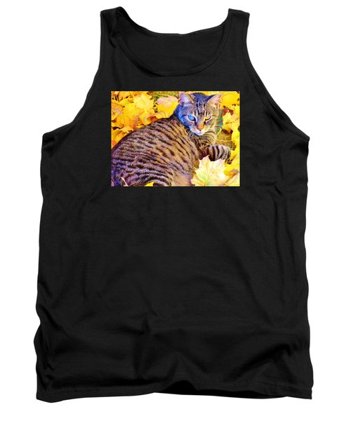 Tank Top featuring the photograph Feeling Fall by Marilyn Diaz