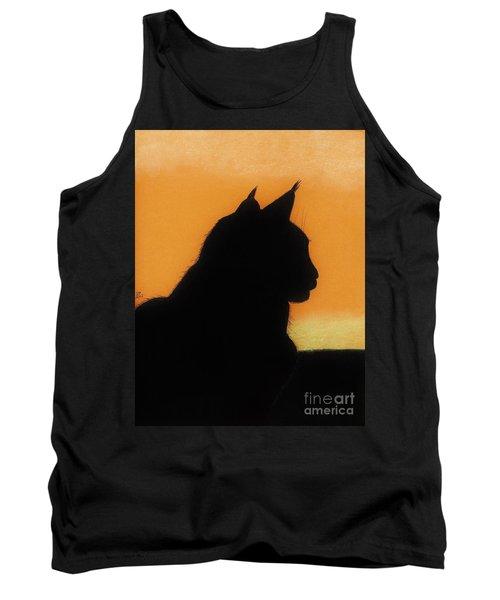 Feline - Sunset Tank Top