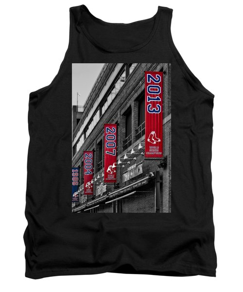 Fenway Boston Red Sox Champions Banners Tank Top