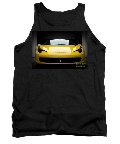 Ferrari 458 Tank Top by Matt Malloy