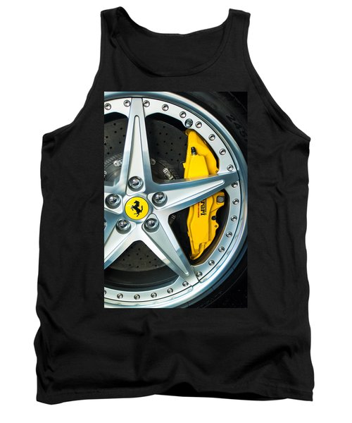 Ferrari Wheel 3 Tank Top