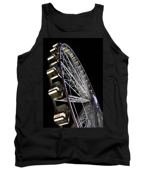 Ferris Wheel At Night Tank Top