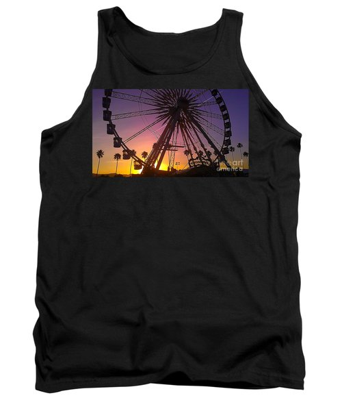 Tank Top featuring the photograph Ferris Wheel by Chris Tarpening