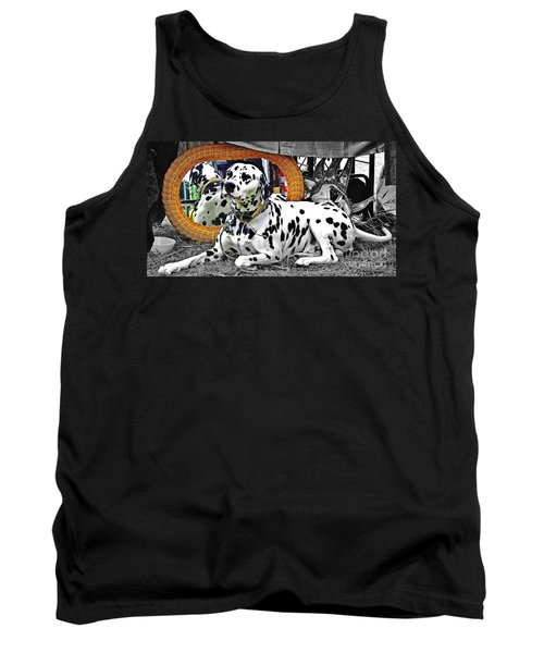 Festival Dog Tank Top by Blair Stuart