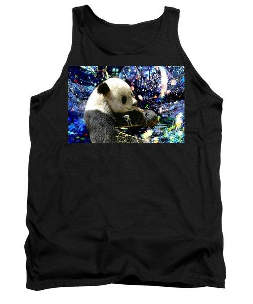 Festive Panda Tank Top