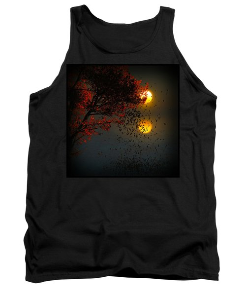 Fiery Fall... Tank Top