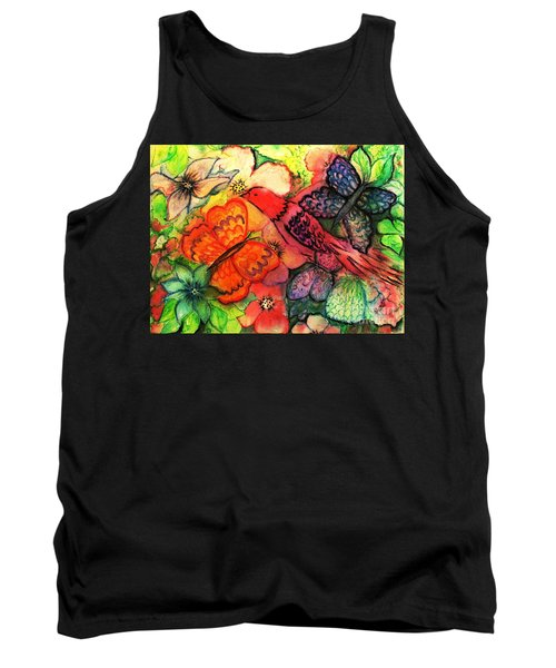 Tank Top featuring the painting Finding Sanctuary by Hazel Holland