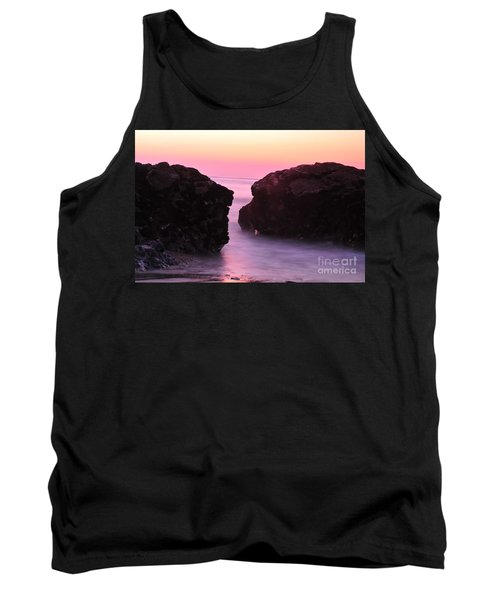 Fine Art Water And Rocks Tank Top