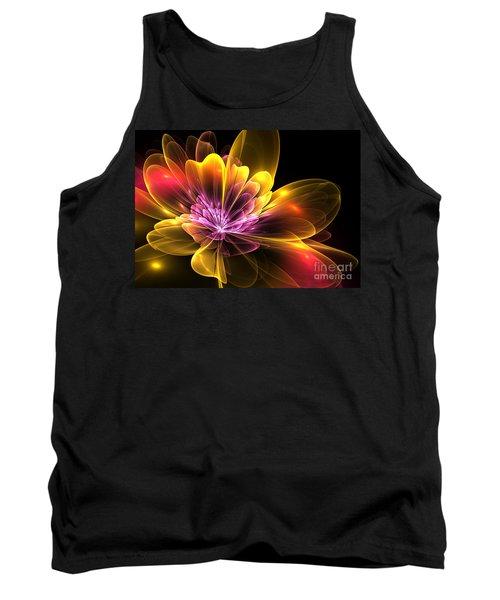 Fire Flower Tank Top