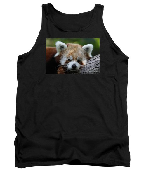 Tank Top featuring the photograph Fire Fox by Judy Whitton