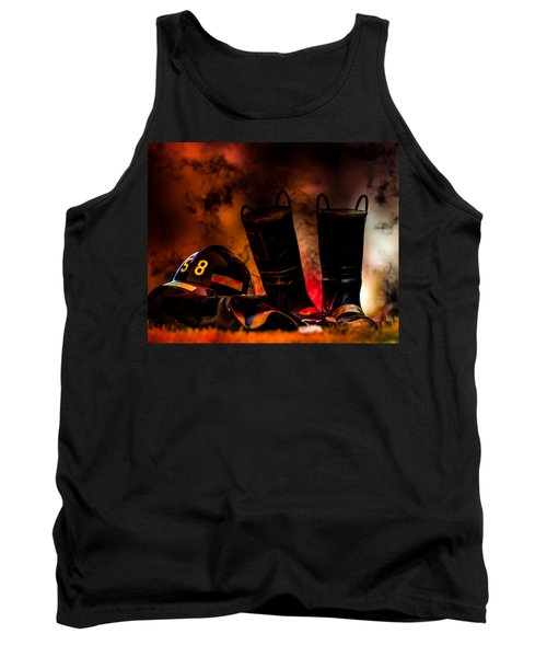 Firefighter Tank Top