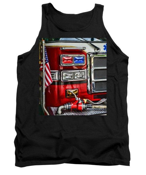 Fireman - Fire Engine Tank Top