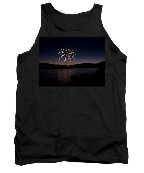 Tank Top featuring the photograph Fireworks 11 by Sonya Lang
