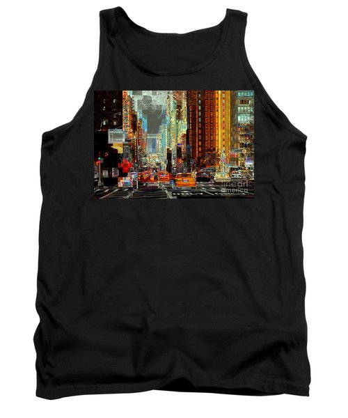 First Avenue - New York Ny Tank Top
