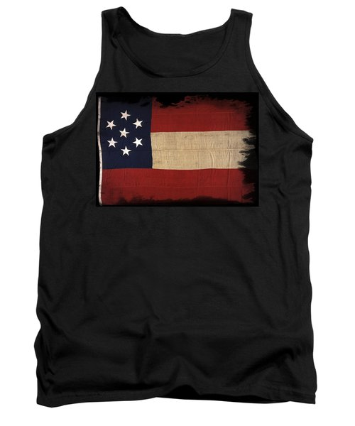 First Confederate Flag Tank Top