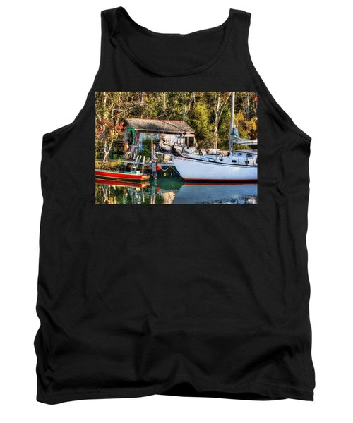 Fish Shack And Invictus Original Tank Top