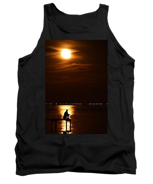 Fishing By Moonlight01 Tank Top