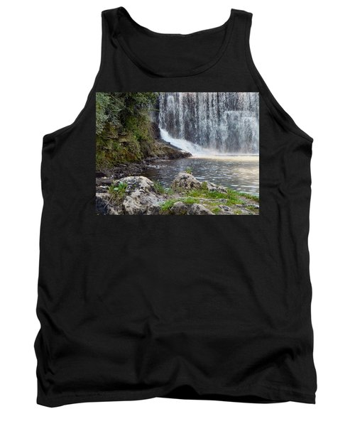 Tank Top featuring the photograph Fishing Hole by Deb Halloran
