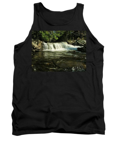 Tank Top featuring the photograph Fishing Hole by Sherman Perry