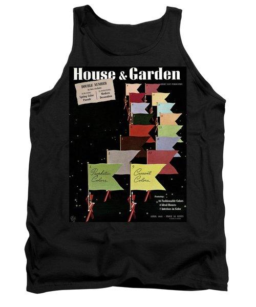 Flags Being Carried By Toy Soldiers Tank Top