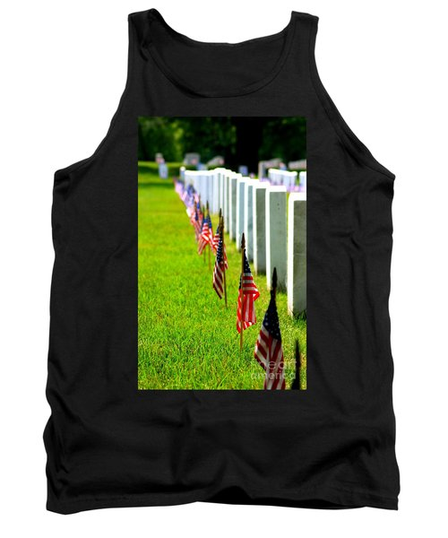 Flags In Tank Top