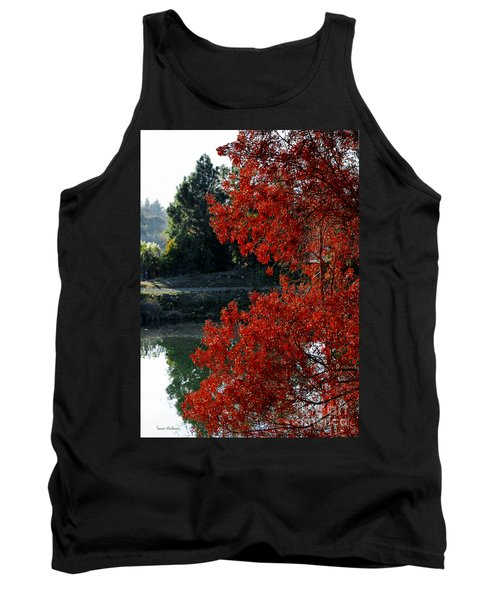 Flame Red Tree Tank Top