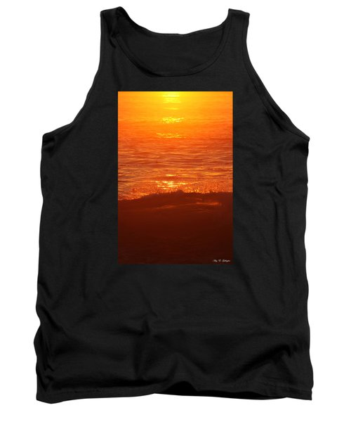 Tank Top featuring the photograph Flames With No Horizon by Amy Gallagher