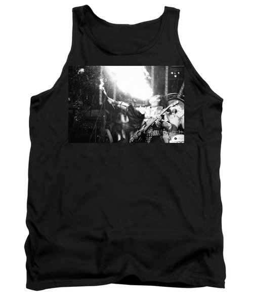 Tank Top featuring the photograph Flaming Gene by Steven Macanka
