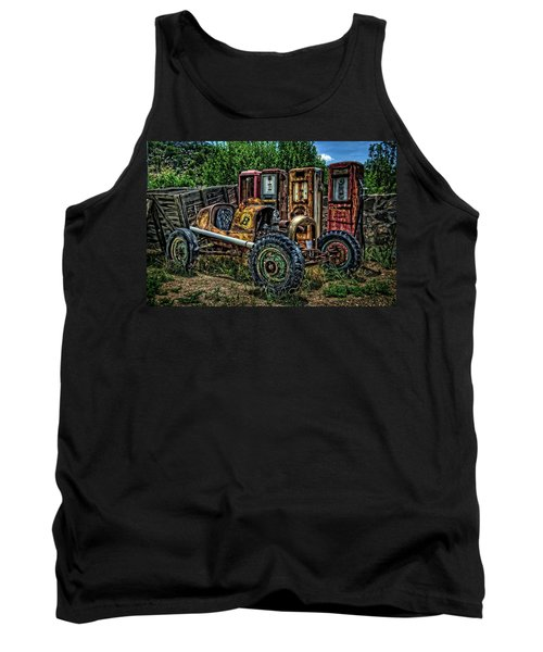 Tank Top featuring the photograph Flathead Ford Racer by Ken Smith