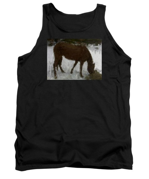 Tank Top featuring the painting Flicka by Bruce Nutting