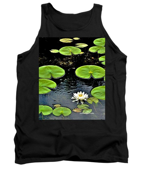 Floating Lily Tank Top