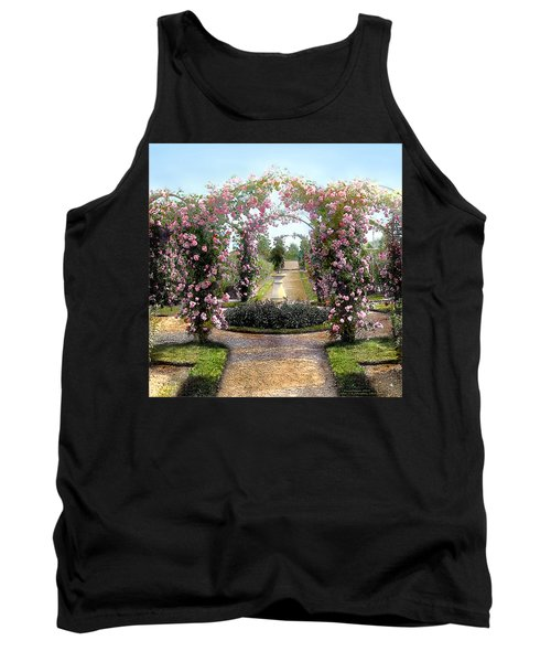 Floral Arch Tank Top by Terry Reynoldson