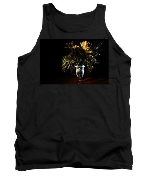 Tank Top featuring the photograph Floral Arrangement by David Andersen