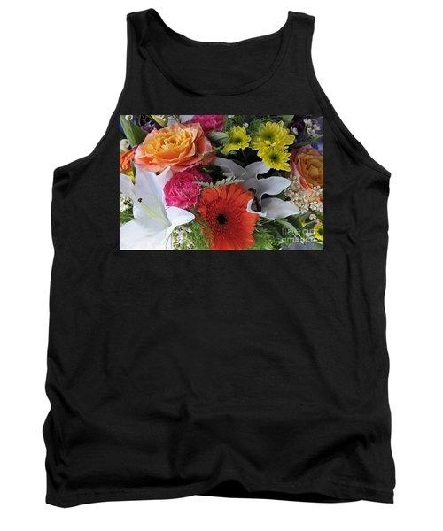 Floral Bouquet 7 Tank Top