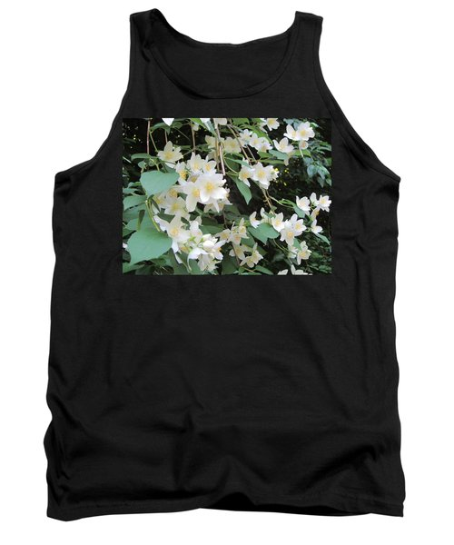 Floral Cascade Tank Top by Pema Hou