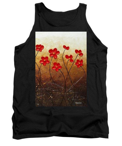 Flores De Mi Jardin 3 Tank Top