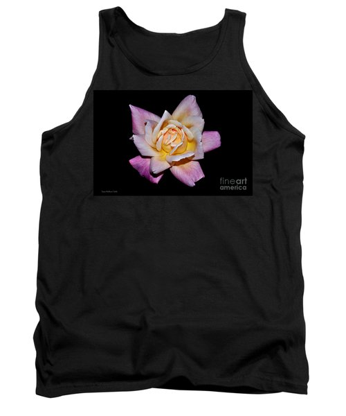 Tank Top featuring the photograph Floribunda Rose In Full Bloom by Susan Wiedmann