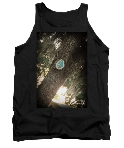 Tank Top featuring the photograph Florida Peace by Valerie Reeves