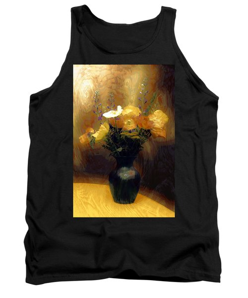 Tank Top featuring the photograph Flourish  by Aaron Berg