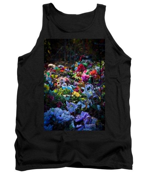 Flower Graveyard Tank Top