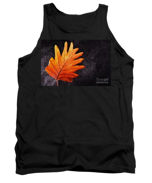 Flower Grows In Rain Tank Top by Manjot Singh Sachdeva