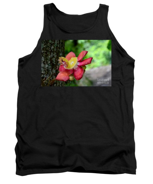 Flower Of Cannonball Tree Singapore Tank Top