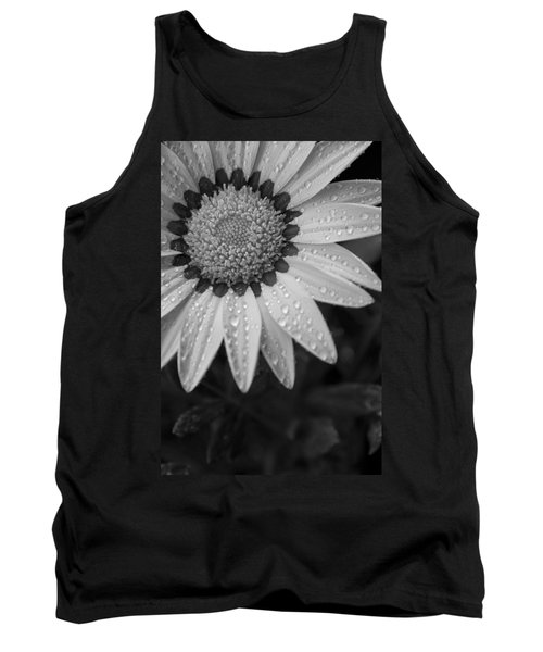 Flower Water Droplets Tank Top