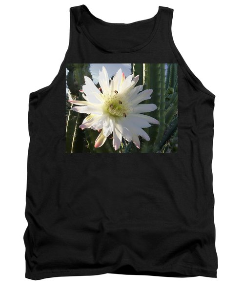 Flowering Cactus 5 Tank Top