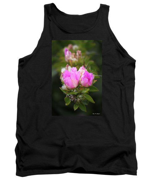 Tank Top featuring the photograph Flowers For You by Amy Gallagher