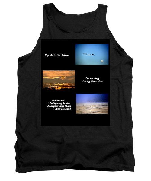 Fly Me To The Moon Tank Top